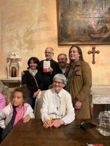 © Naraprod-EventsSoeur Bernadette Mouriau, Catherine Pila, le Père Gérard.Laurence Guglielmo & Fanfan David.