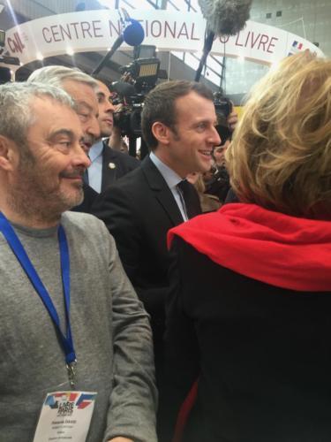 © Naraprod-EventsMr le président Emmanuel Macron & Fanfan David