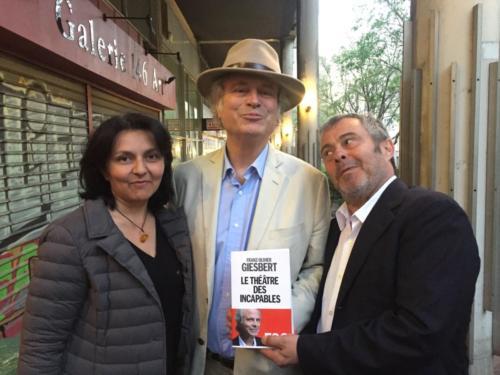 © Naraprod-EventsFranz-Olivier Giesbert Avec Fanfan David et Laurence Guglielmo.