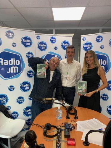 © Naraprod-EventsRadio JM reçoit Michel Tsimaratos et Fanfan David Dans l'émission de Vanessa Sitbon