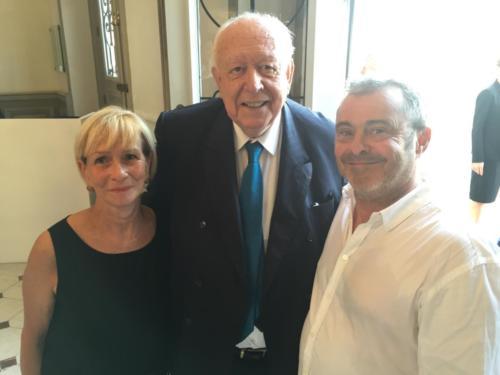 © Naraprod-EventsMme Anne-Marie d'estienne d'orves et Mr Jean-Claude Gaudin .