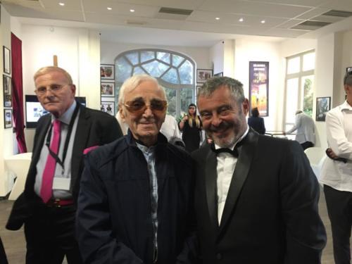 © Naraprod-Events Charles Aznavour, Fanfan David